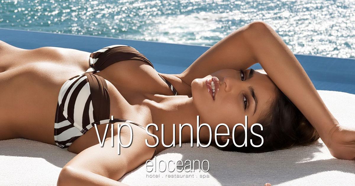 April VIP Sunbeds - El Oceano Hotel Mijas Costa Spain OG01