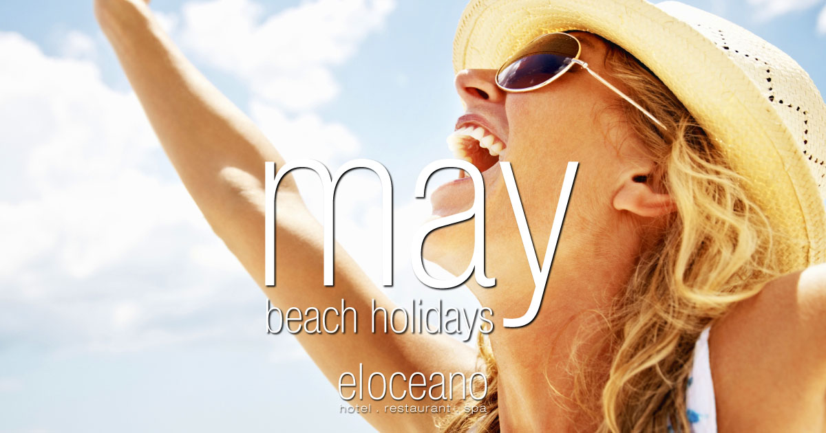 May Beach Holidays at El Oceano Beach Hotel Mijas Costa Costa del Sol Spain OG01