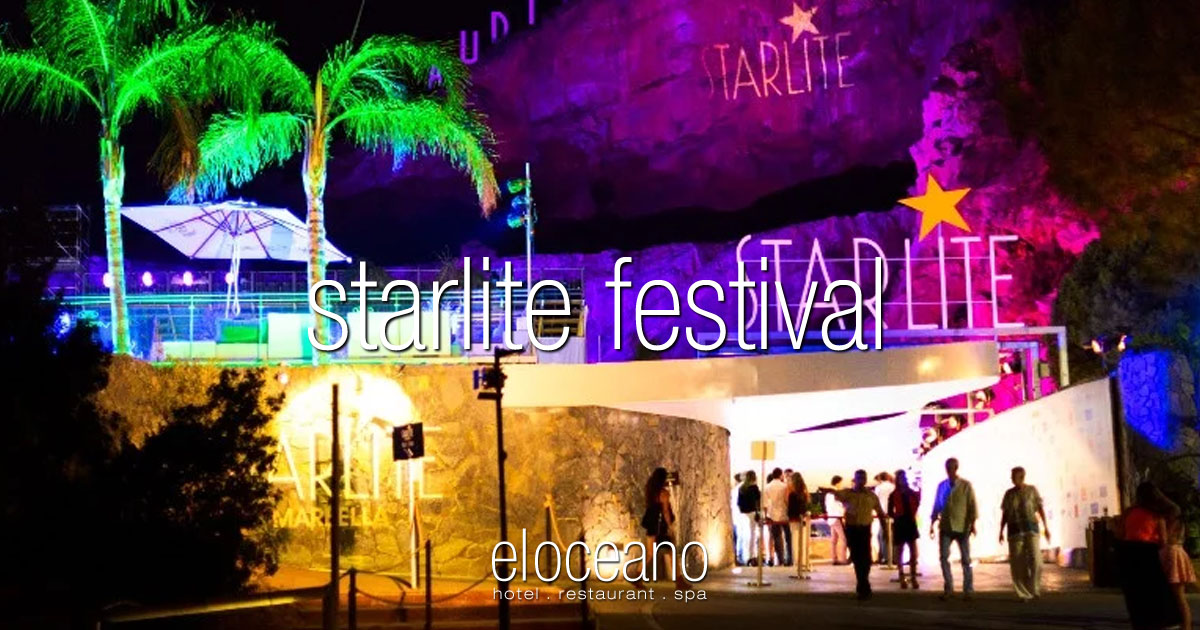 Visit the Starlite Festival on your Luxury Holiday at El Oceano Beach Hotel Spain