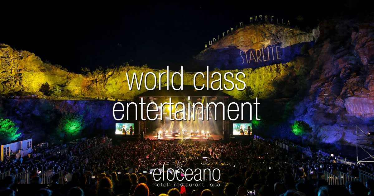 World Class Entertainment Costa del Sol - Stay at El Oceano Luxury Beach Hotel OG01
