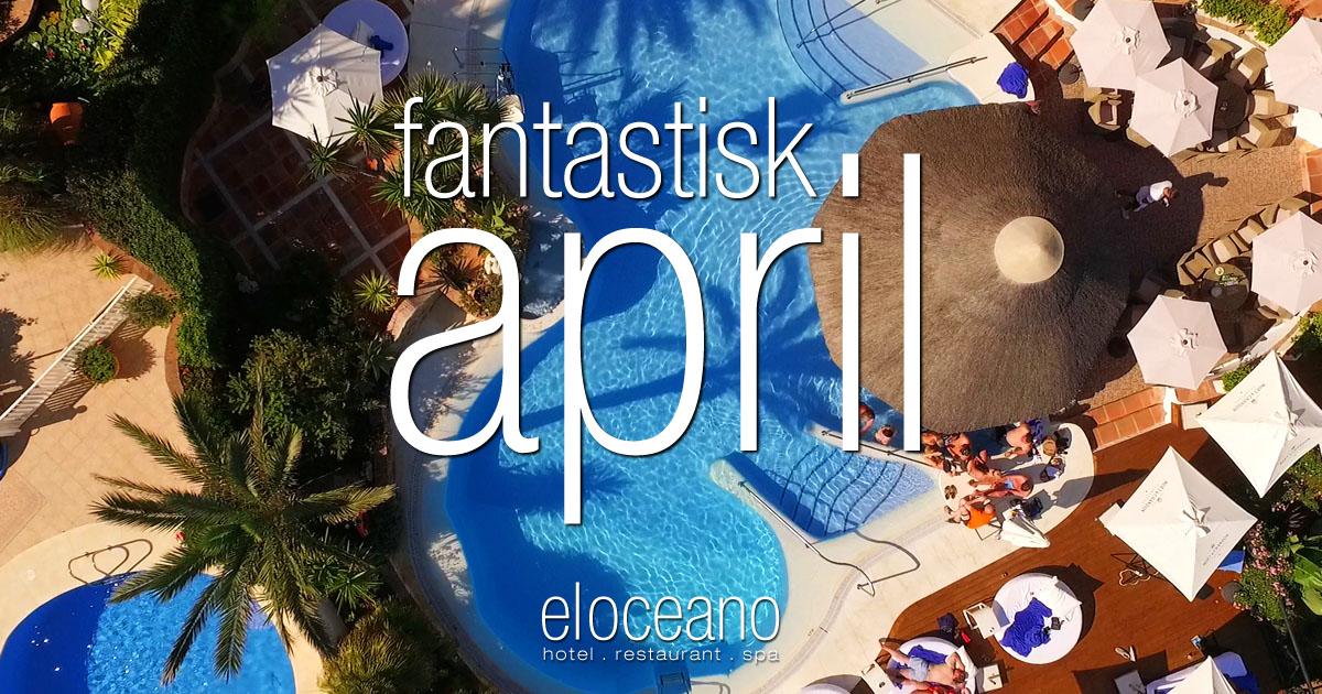 fantastisk april - El Oceano Hotell Mijas Costa Spanien