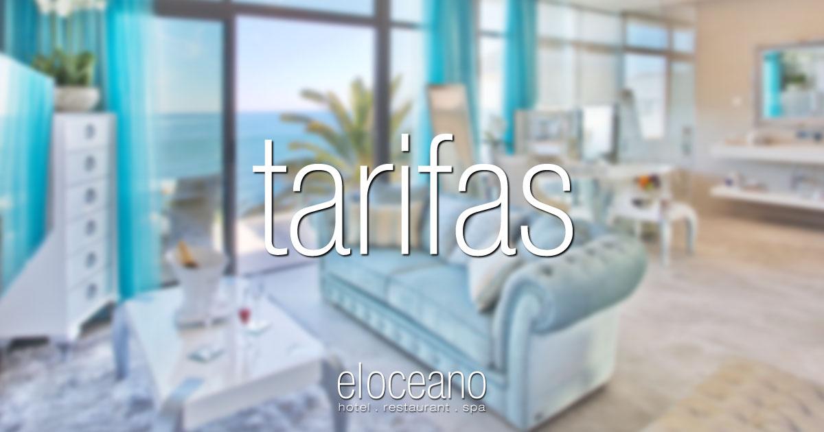 tarifas del hotel - El Oceano Hotel Frente Playa Mijas Costa Costa del Sol Espana OG01