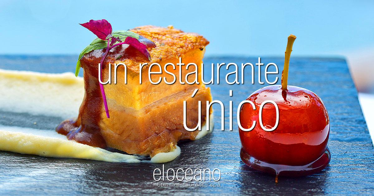 un restaurante único - El Oceano Hotel Restaurante Mijas Costa Costa del Sol Andalucia OG01