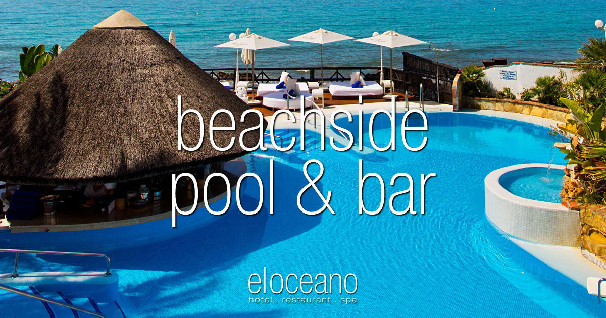 The Heated Outdoor Beachfront Swimming Pool At El Oceano Hotel