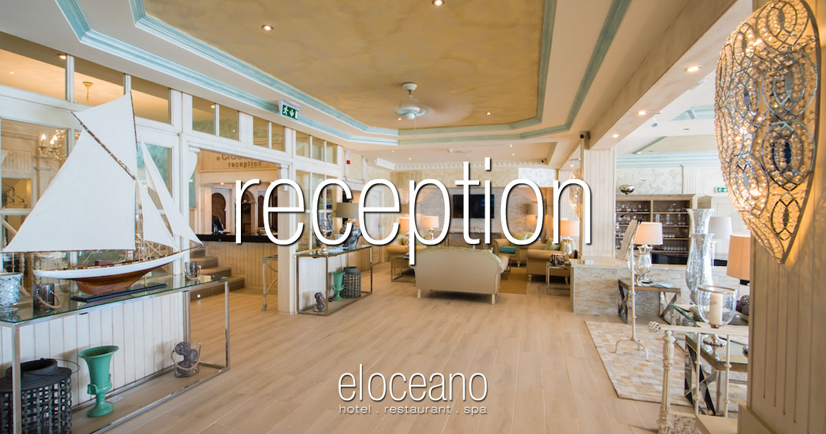 Reception Services at El Oceano Hotel Mijas Costa Spain OG01