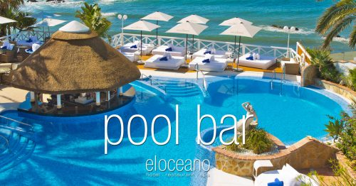 Pool Bar and Sun Terrace - El Oceano Luxury Beach Hotel Mijas Costa Spain OG01