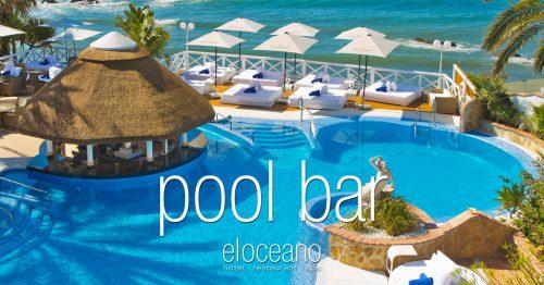 Pool Bar and Sun Terrace - El Oceano Luxury Beach Hotel Mijas Costa Spain OG01