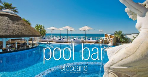 Pool Bar and Sun Terrace - El Oceano Luxury Beach Hotel Mijas Costa Spain OG02