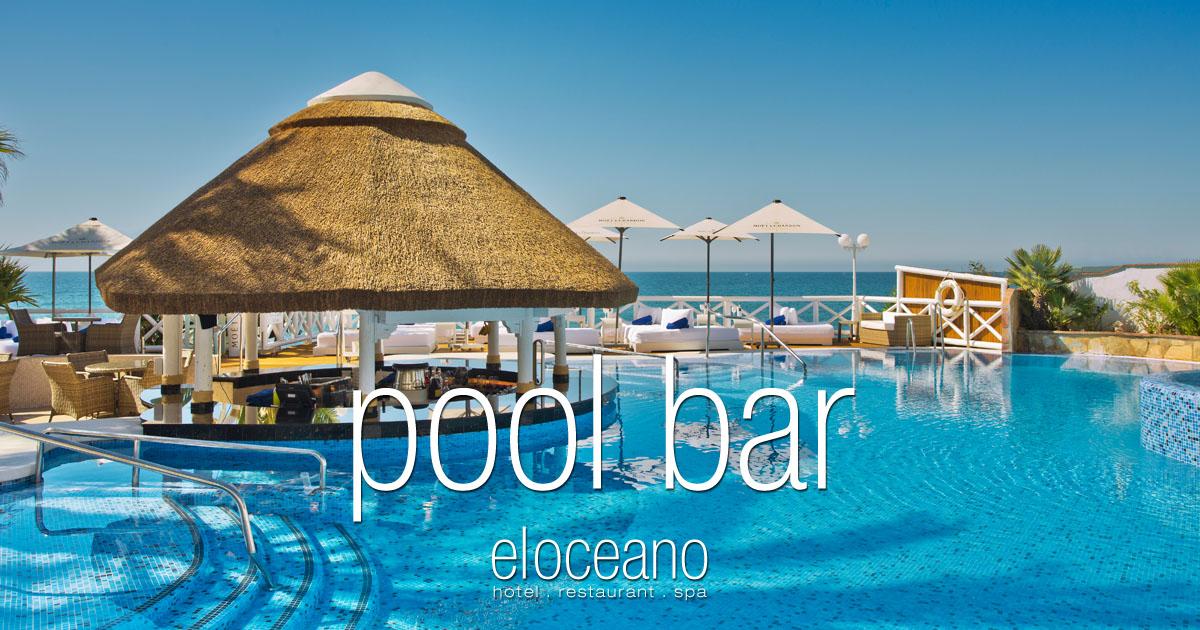 Pool Bar and Sun Terrace - El Oceano Luxury Beach Hotel Mijas Costa Spain OG03