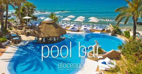 Pool Bar and Sun Terrace - El Oceano Luxury Beach Hotel Mijas Costa Spain OG04