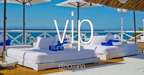 VIP Sunbeds at El Oceano Luxury Beach Hotel OG01