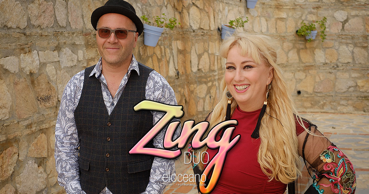 Zing Duo Live Music Entertainment El Oceano Luxury Beach Hotel Mijas Costa Spain OG01
