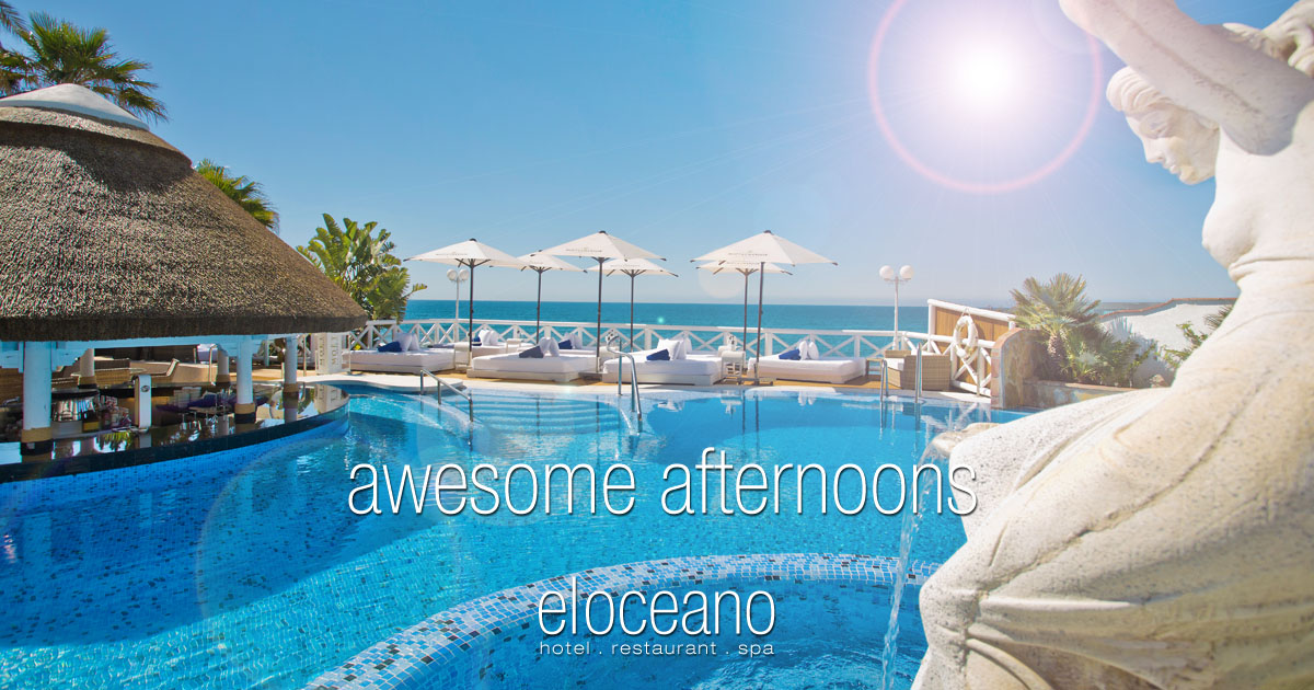 Awesome Afternoons at El Oceano Luxury Beach Club, Mijas Costa, Spain OG03