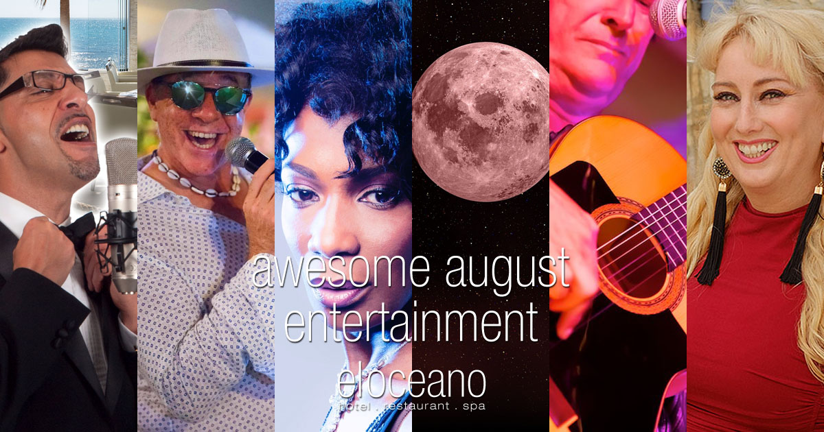 Awesome August Entertainment El Oceano Hotel Restaurant Mijas Costa Spain OG01