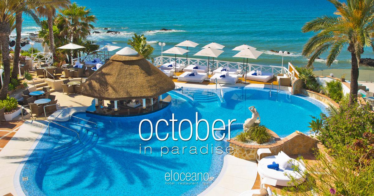 October in Paradise - October Low Season Holidays at El Oceano Luxury Beach Hotel, Mijas Costa, Spain OG02