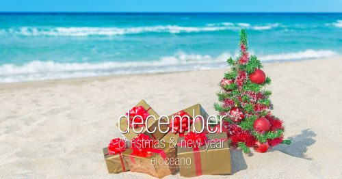 December Christmas New Year El Oceano Luxury Beach Hotel Restaurant 2019 OG03