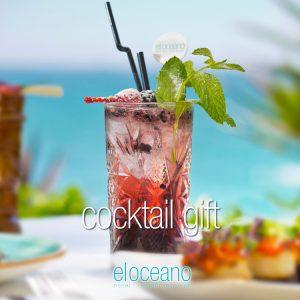 Cocktail Gft - Luxury Gifts Vouchers, El Oceano Hotel Restaurant P01
