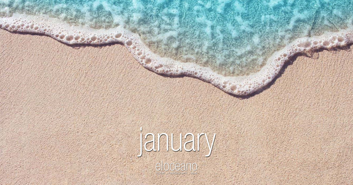 January at El Oceano Luxury Beach Hotel Restaurant Mijas Costa Spain OG01
