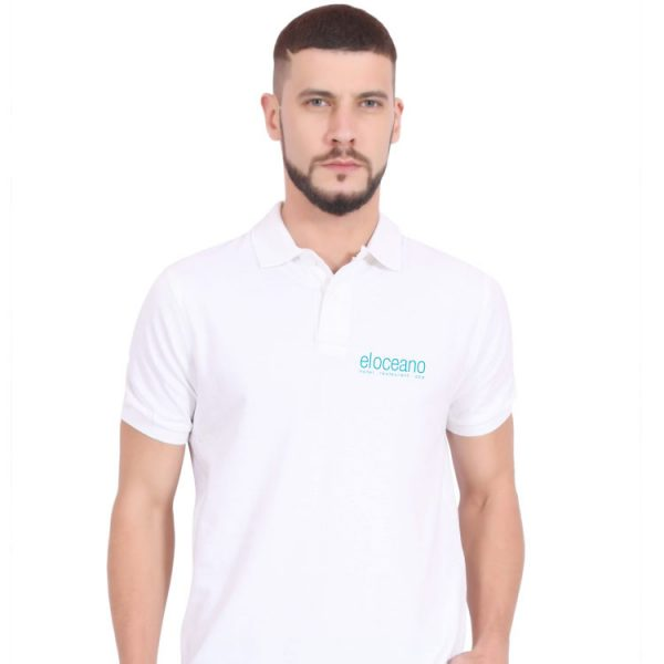 Mens El Oceano Polo Shirt - Luxury Merchandise, El Oceano Hotel Restaurant P01