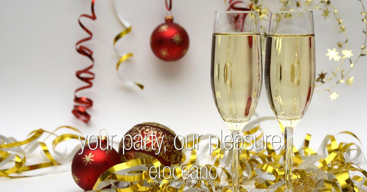 Office Christmas Parties El Oceano Hotel Restaurant OG01