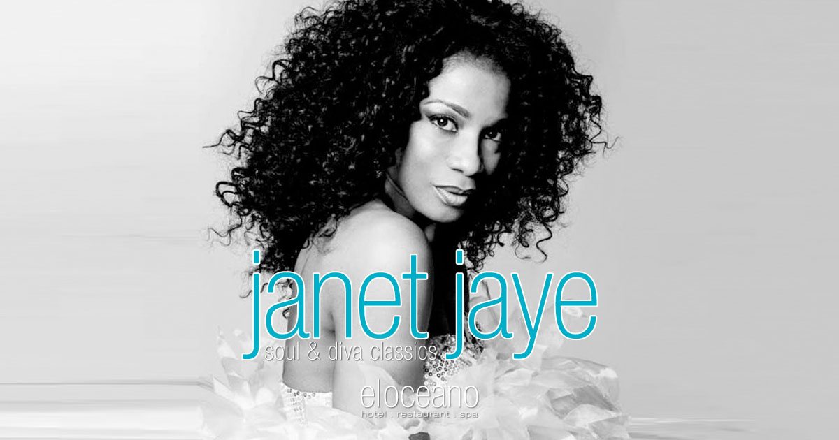 Janet Jaye Live Music Dining Entertainment El Oceano Hotel Restaurant Mijas Costa Spain OG01