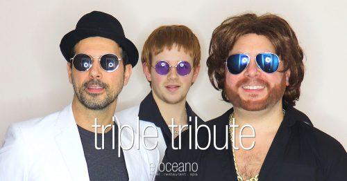 Triple Tribute Live Music Entertainment El Oceano Beachfront Restaurant Mijas Costa OG05
