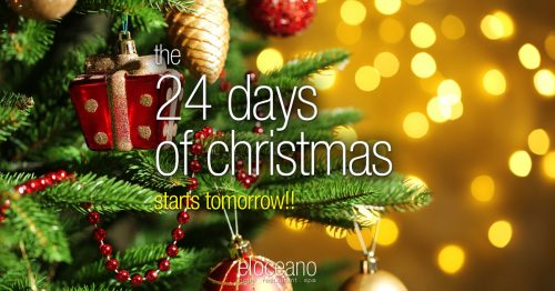 24 Days of Christmas - Christmas Season 2019-20 El Oceano hotel Restaurant OG06