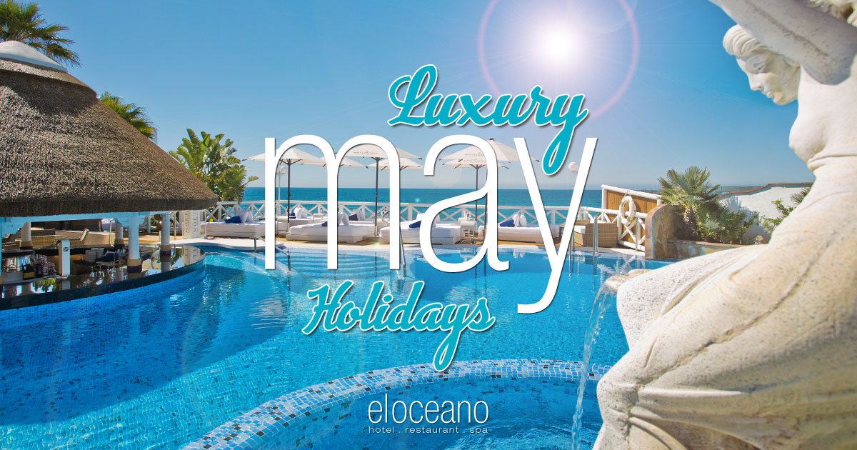 Luxury May Holidays at El Oceano Beach Hotel, Costa del Sol, Spain.
