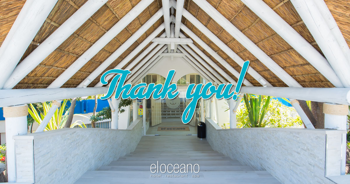 Thank You from El Oceano Beach Hotel OG04