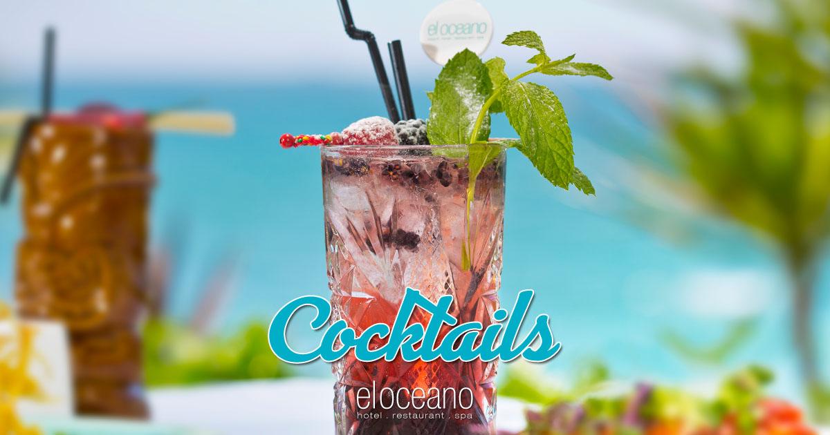 Cocktails at El Oceano Hotel OG01