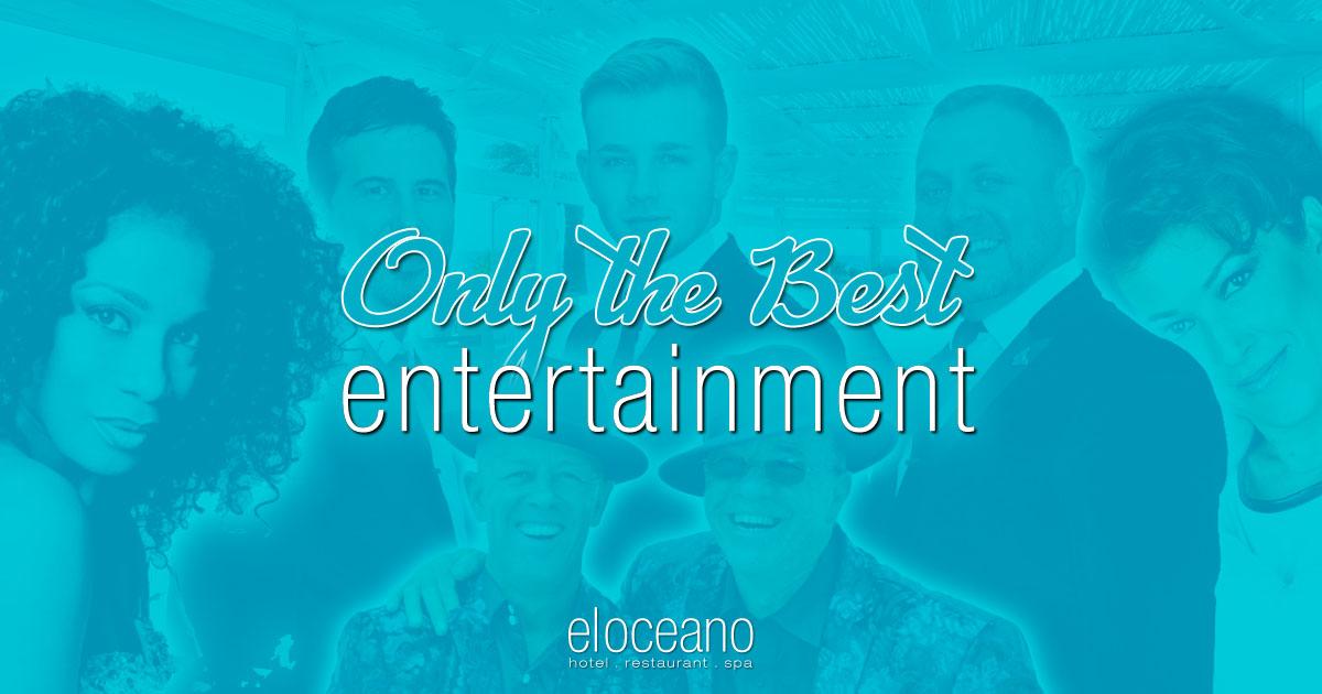 Entertainment at El Oceano Hotel Restaurant Mijas Costa Spain OG01
