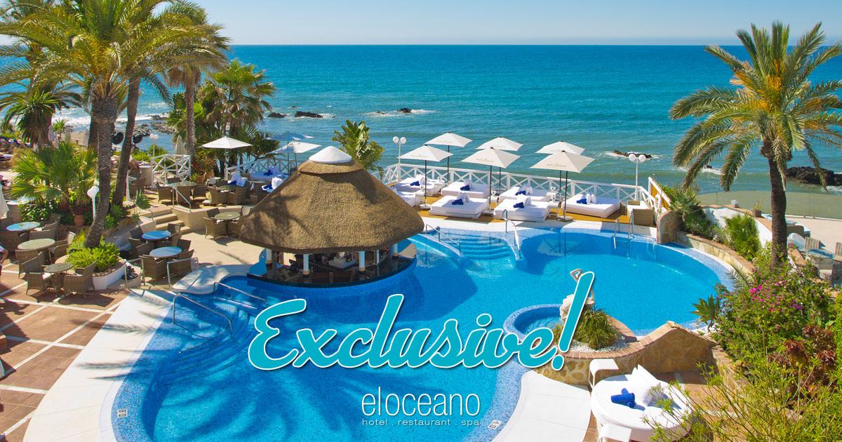 Exclusive VIP Sun Terrace El Oceano Hotel OG01