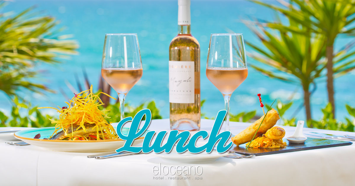 Lunch at El Oceano Restaurant - Next to the Ocean Close to Perfection OG01