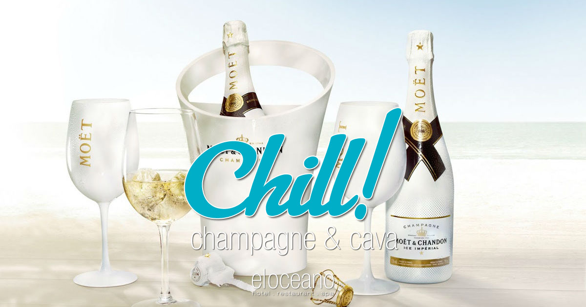 Champagne Cava Wine List El Oceano Restaurant Mijas Costa Spain OG01