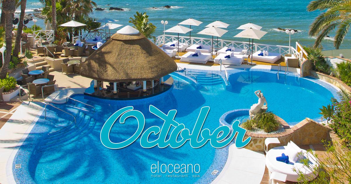 October at El Oceano Luxury Beach Hotel Mijas Costa Spain OG01