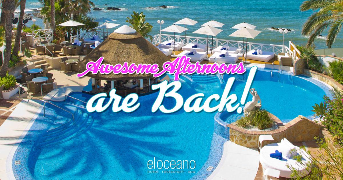 El Oceano Pool Bar & Terrace Re-Opens Wednesday 10th June 2020 OG02