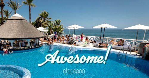 VIP Sunbeds at El Oceano Luxury Beachfront Hotel OG02