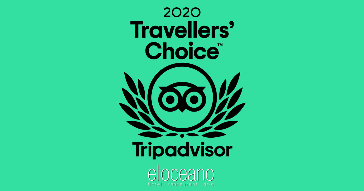 El Oceano TripAdvisor Travellers Choice Award Winner 2020 OG01