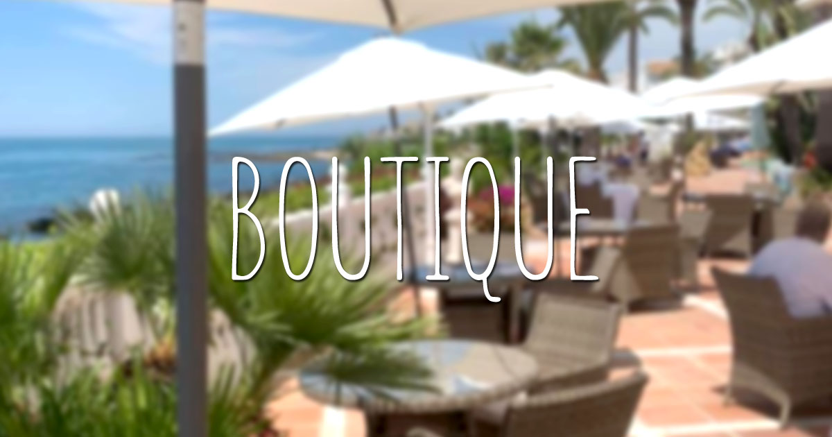 Boutique Hotels Spain - El Oceano Hotel Restaurant Mijas Costa Costa del Sol Spain OG01