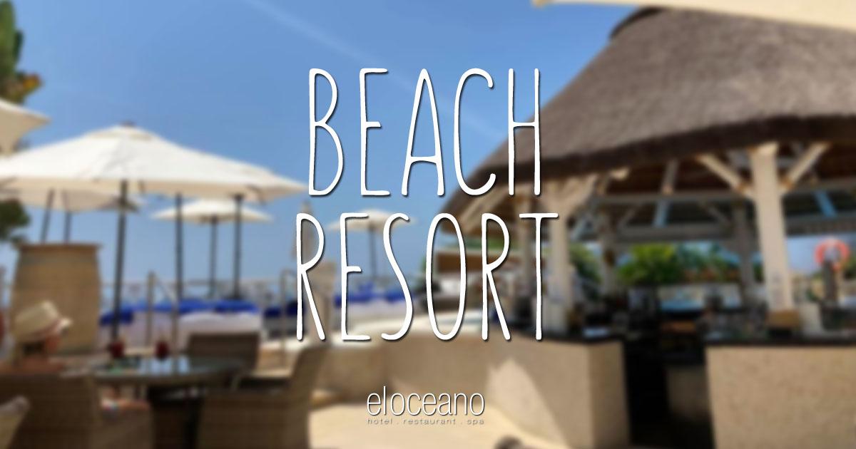 Luxury Spanish Beach Resort - El Oceano Hotel Restaurant Mijas Costa Costa del Sol Spain OG02