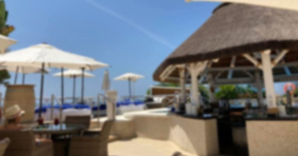 Luxury Spanish Beach Resort - El Oceano Hotel Restaurant Mijas Costa Costa del Sol Spain OG03