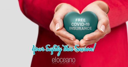 FREE Covid-19 Insurance Cover for 2021 El Oceano Luxury Beach Hotel & Restaurant, Mijas Costa, Spain OG01
