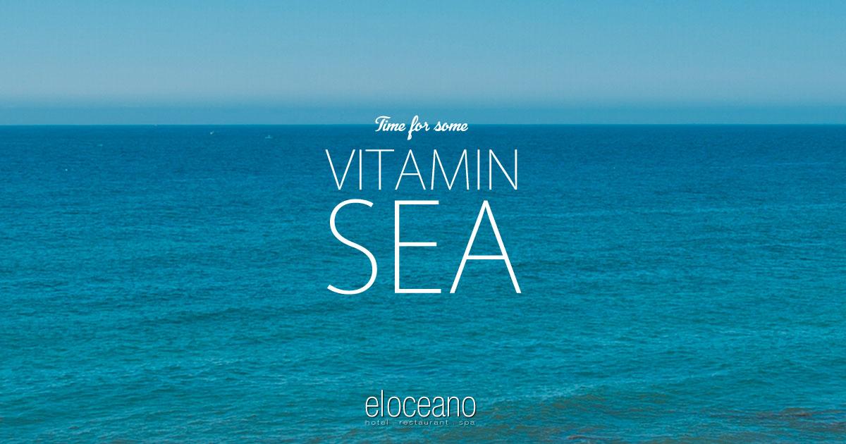 Vitamin Sea. Luxury Summer 2021 Holidays at El Oceano Beach Hotel.