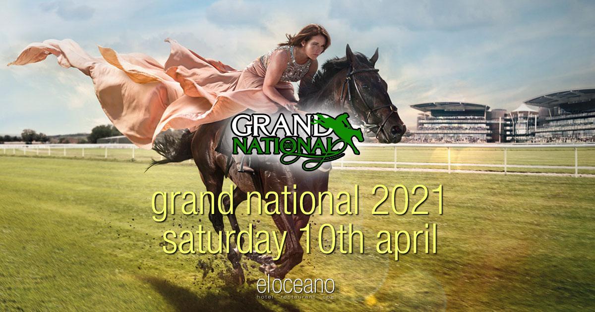 Grand National Day, Saturday 10th April 2021, El Oceano Restaurant OG01