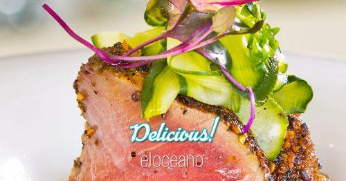 Delicious Food at El Oceano Restaurant