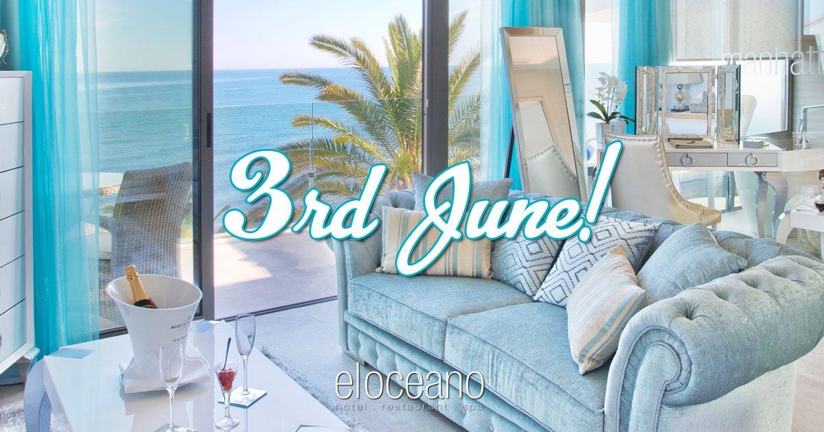 3rd June El Oceano Hotel Reopens for the 2021 Season OG01