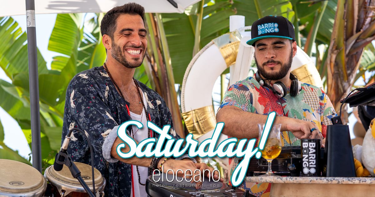 Saturday Afternoon with Barrio Bongo on the Terrace