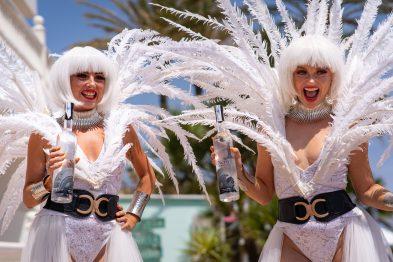 The White Party at El Oceano Luxury Beach Hotel, Costa del Sol, Spain, with Nero Premium Vodka
