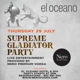 Nero Vodka Parties at El Oceano