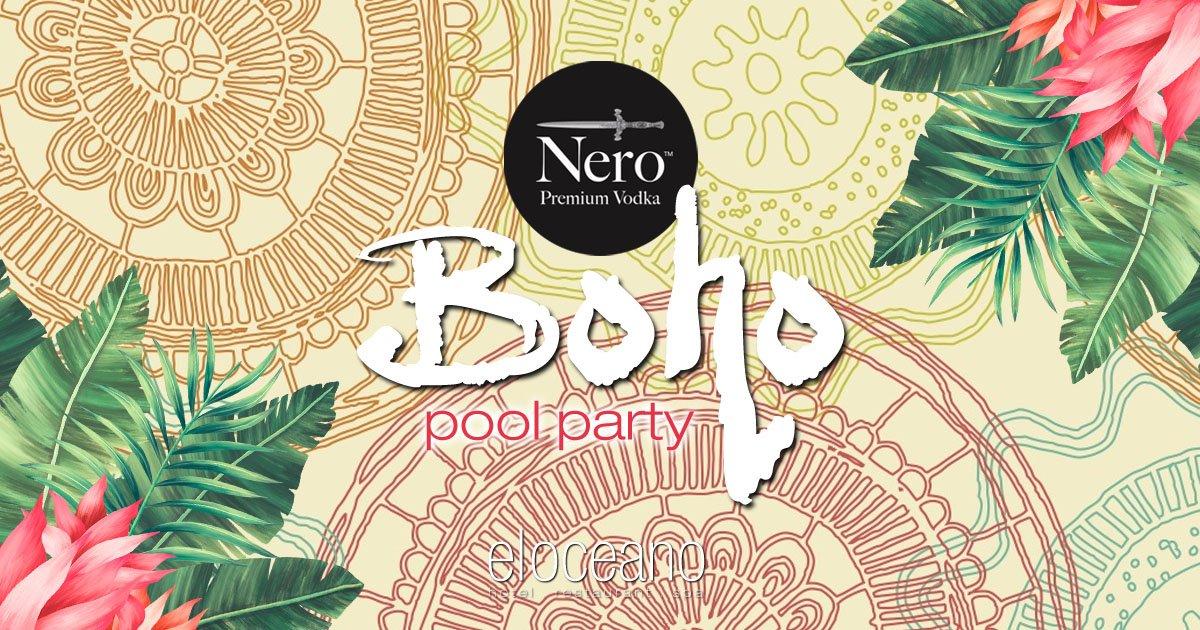 Boho Pool Party - El Oceano & Nero Premium Vodka